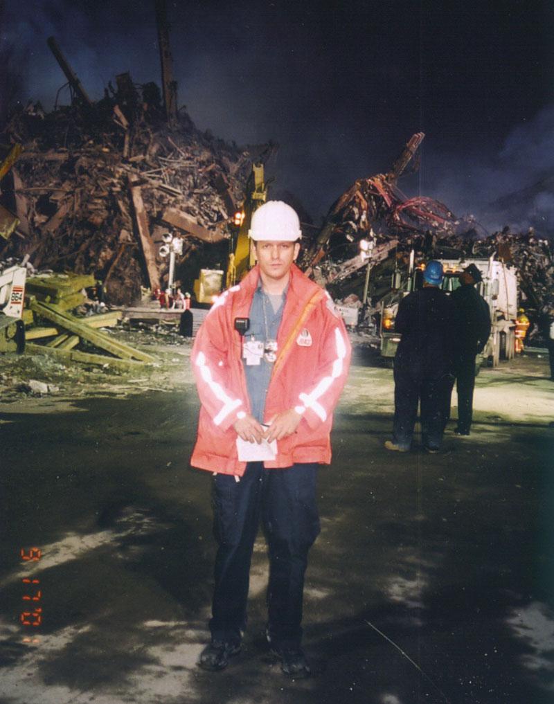 Clark Bortree at Ground Zero